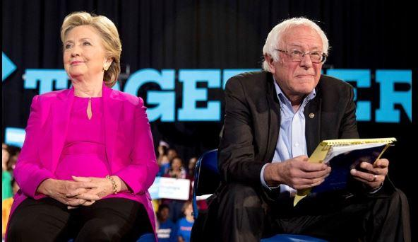 Bernie Sanders' 2016 presidential campaign spokesman Michael Briggs lashes out at Hillary Clinton and her team