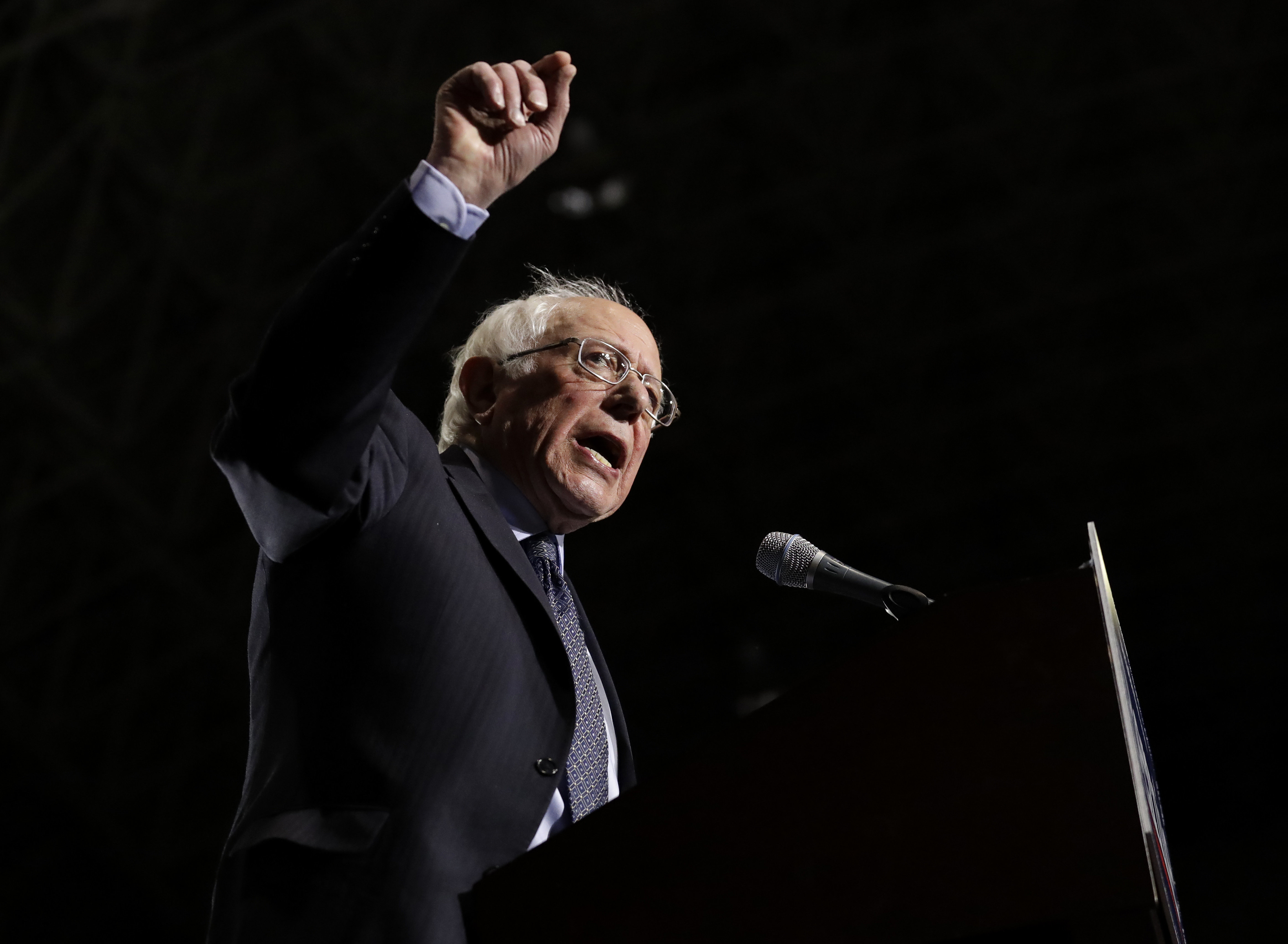 Sen. Bernie Sanders took hiscampaign for the 2020Democratic presidential campaign to Chicago on Sunday,wher