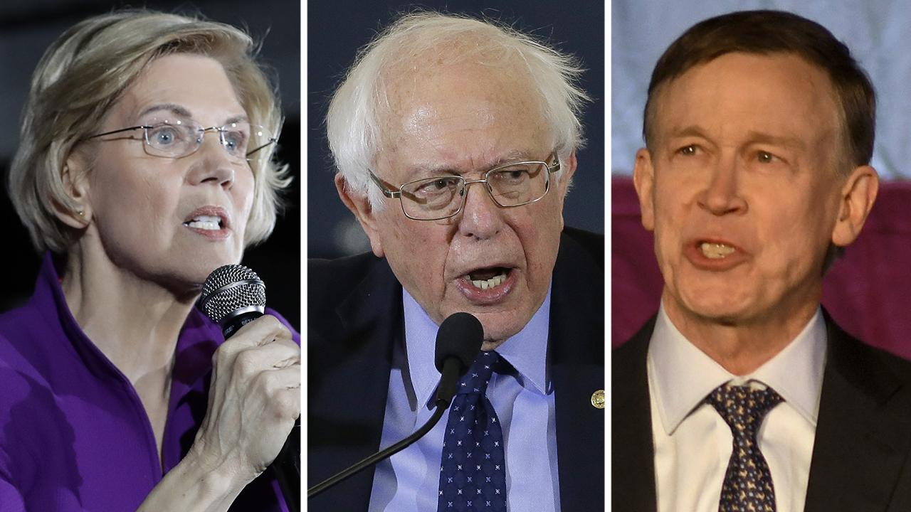 'Socialist' label looms large over 2020 Democrat primary race