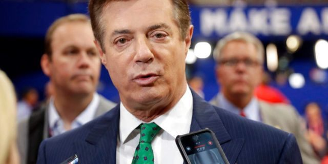 Paul Manafort turned himself in to authorities in October.