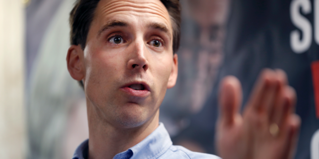 Freshman Missouri Republican Sen. Josh Hawley has suggested he might vote against Neomi Rao, President Trump's replacement for Brett Kavanaugh on the D.C. Circuit Court of Appeals. (AP Photo/Jeff Roberson, File)