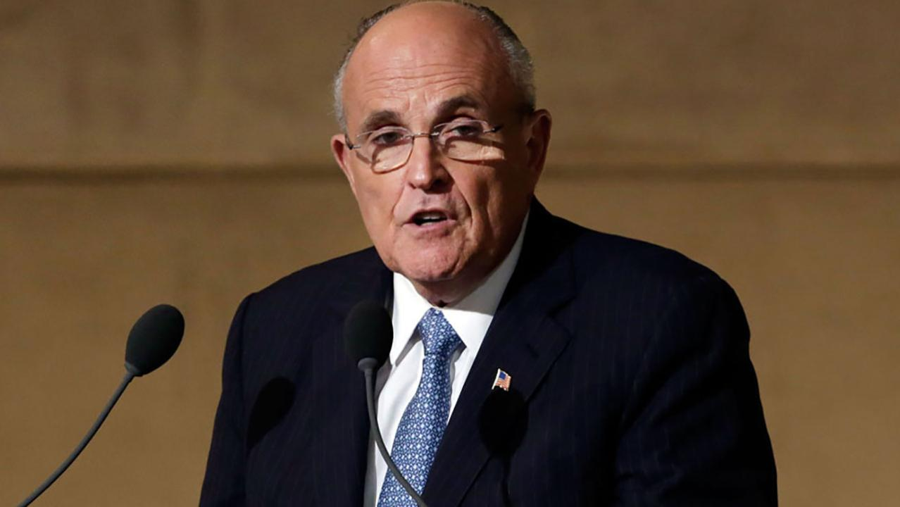 Giuliani clarifies 'collusion is not a crime' comment