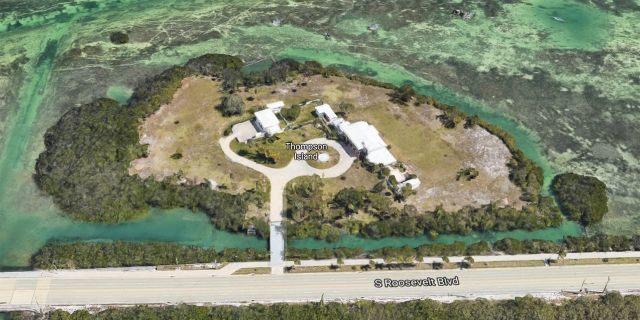 Before his arrest, Andrew Lippi this month purchased the former Knight family estate on Thompson Island off Key West.