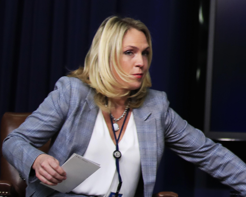 Former White house aide Kelly Sadler.