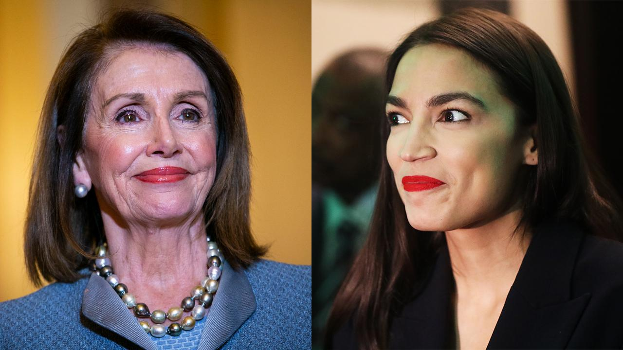 Pelosi appears to mock Ocasio-Cortez over-reliance on Twitter for support