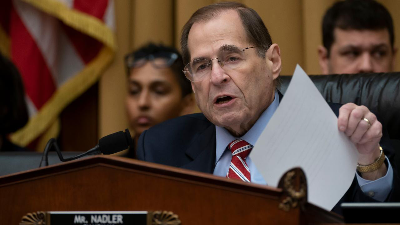 Rep. Jerry Nadler says he will give Attorney General William Barr 'time to change his mind' before issuing subpoenas
