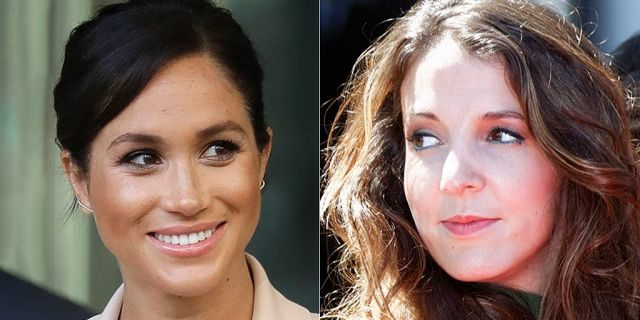 Tessy Antony, Princess of Luxembourg (right), spoke out in defense of Meghan Markle.