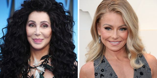 "Kelly Ripa raved about Cher and how the music icon has inspired her as a ""strong"" and ""inclusive woman in the entertainment industry"" in a video project for Cher's biographical Broadway musical."