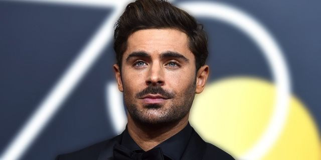 """Zac Efron (pictured in January) said this week that """"it was almost impossible"""" to """"separate"""" himself from his character, Ted Bundy, in the new biopic about the serial killer called """"Extremely Wicked, Shockingly Evil and Vile."""""""