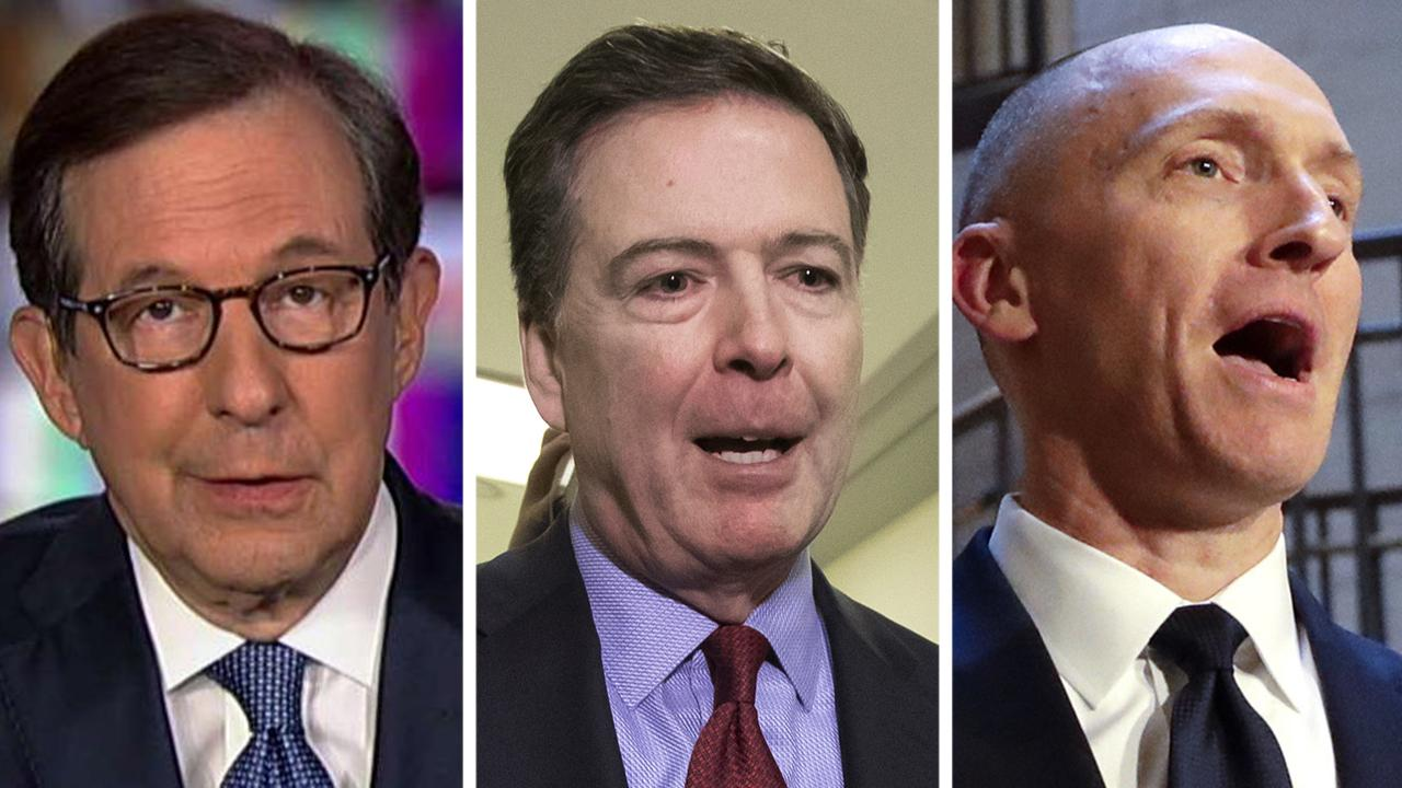 Chris Wallace says two people come out of the Mueller report fairly well: James Comey and Carter Page