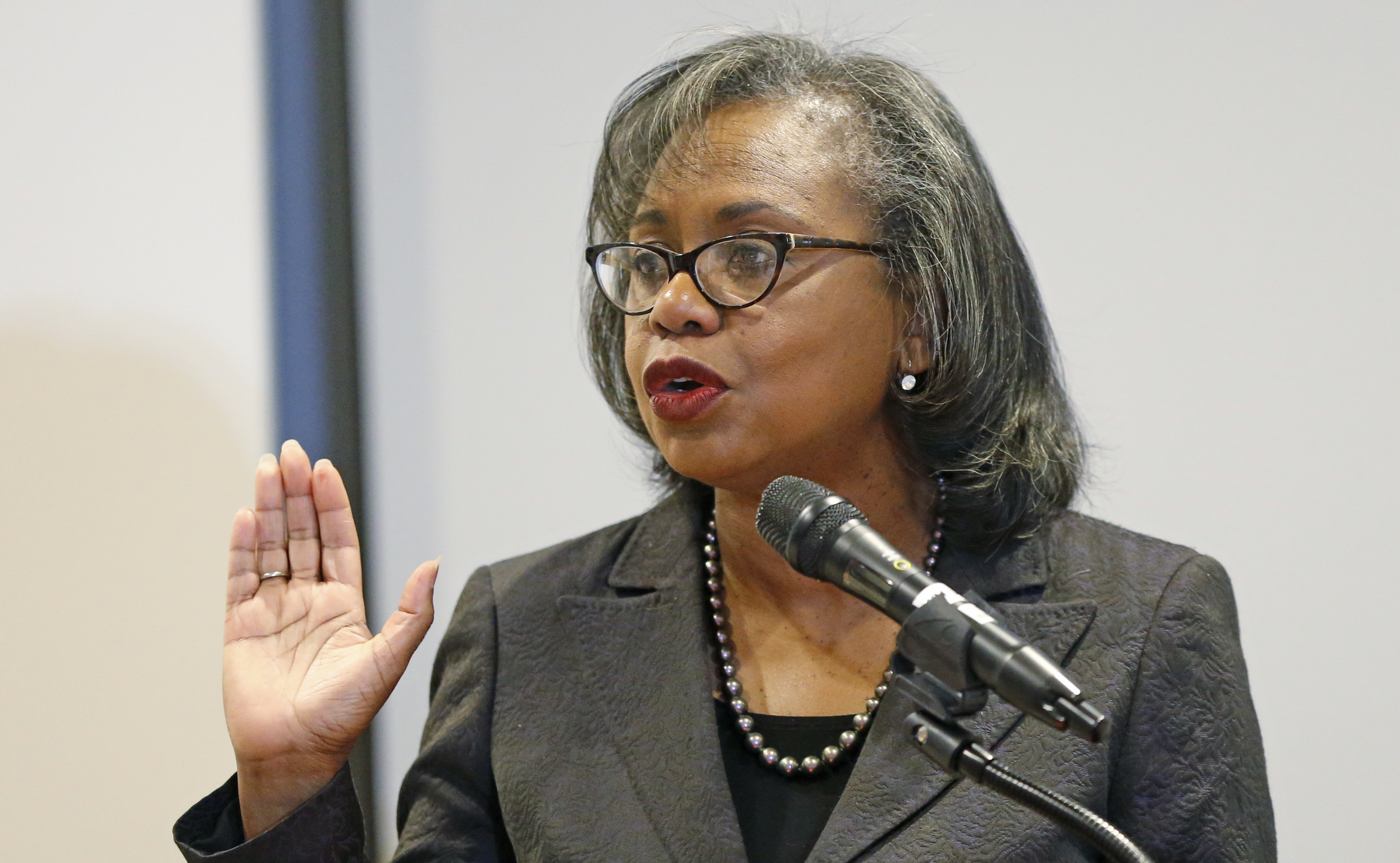 "Law professor Anita Hill said Thursday she would only be satisfied with Biden ""when I know there is real change and real acco"
