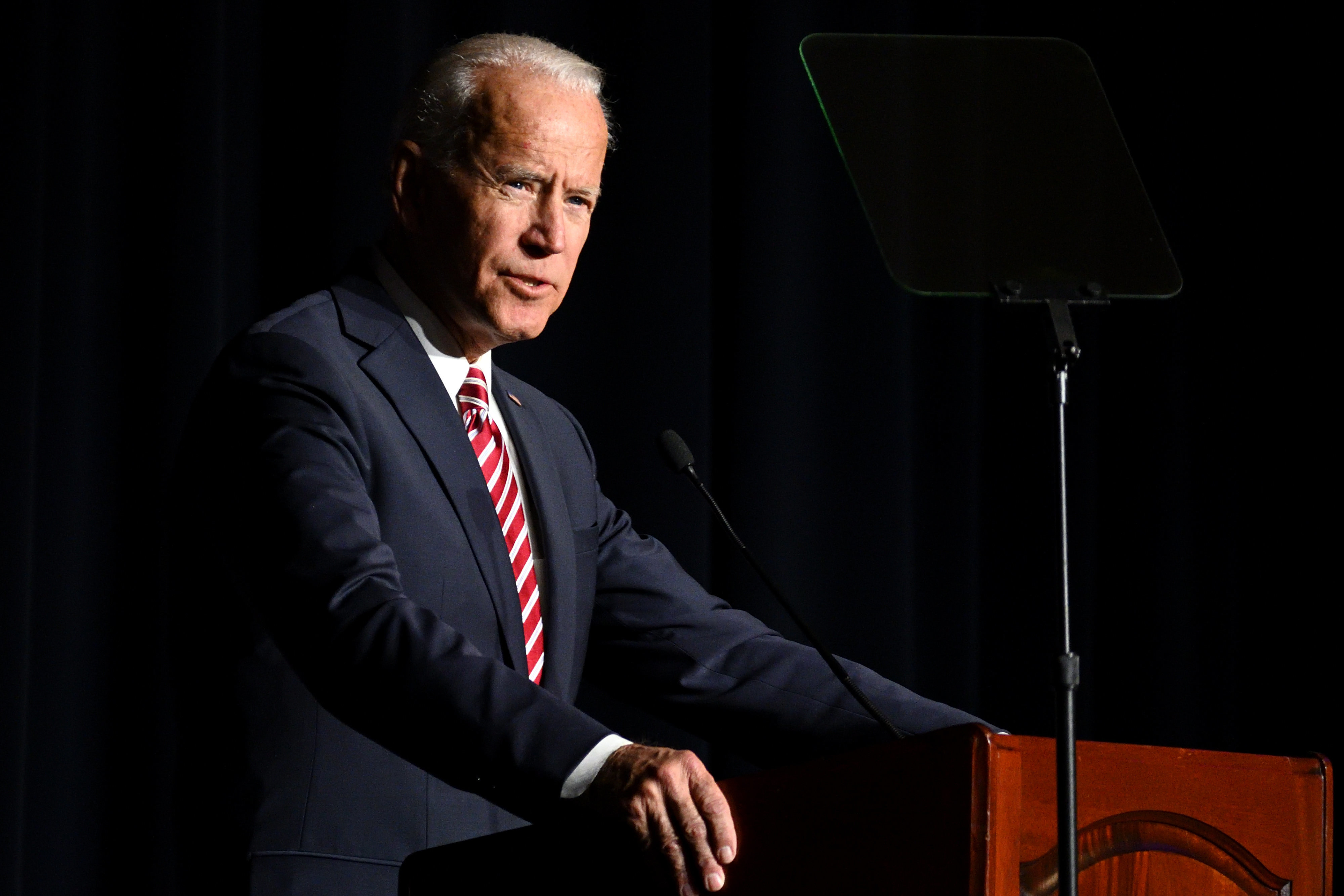 Biden's campaign said the candidate would not take money from registered lobbyists of corporate PACs. But a fundraising event