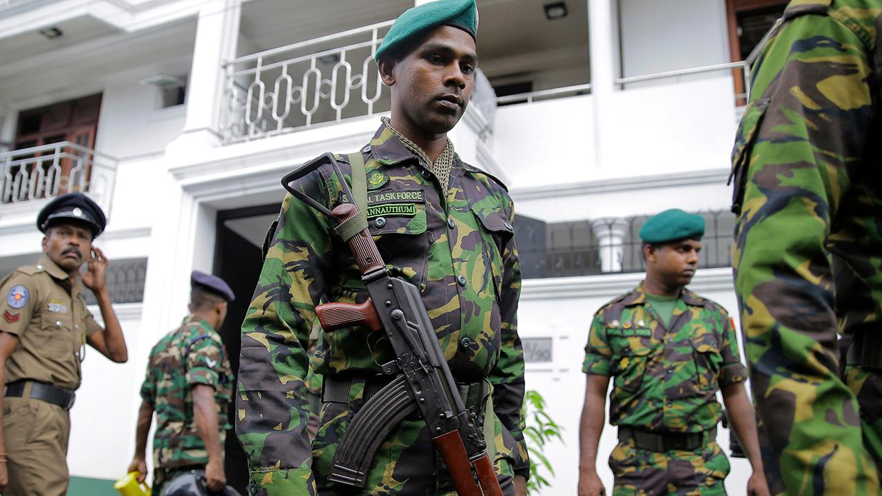 Sri Lanka officials say they've arrested suspects in Easter Sunday attacks