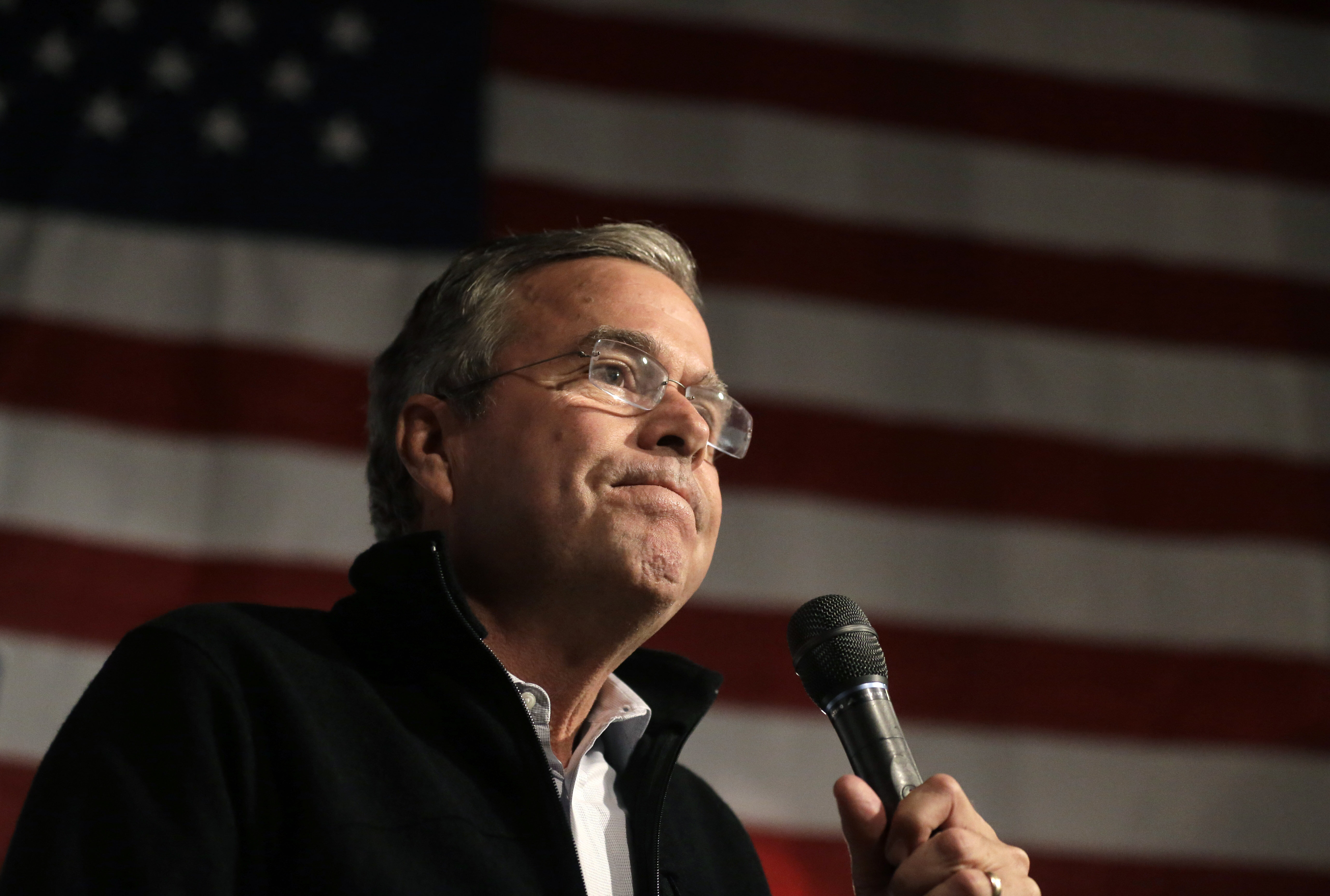 Former Florida Gov. Jeb Bush (R) struggled to come up with a straight answer about whether the Iraq War was a mistake.