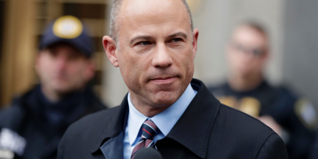 In this Dec. 12, 2018, file photo, attorney Michael Avenatti, speaks outside court in New York. (Associated Press)