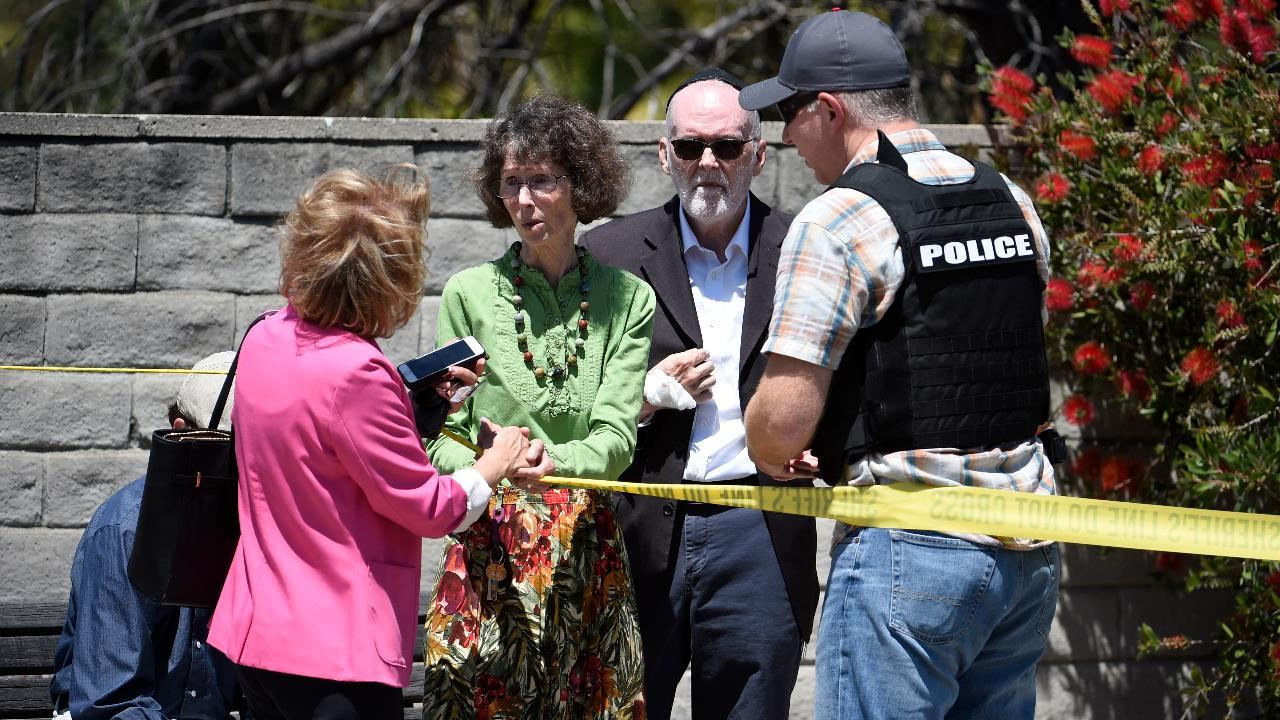 Poway, California synagogue shooting eyewitness: You saw the hate and you saw the murder in his eyes