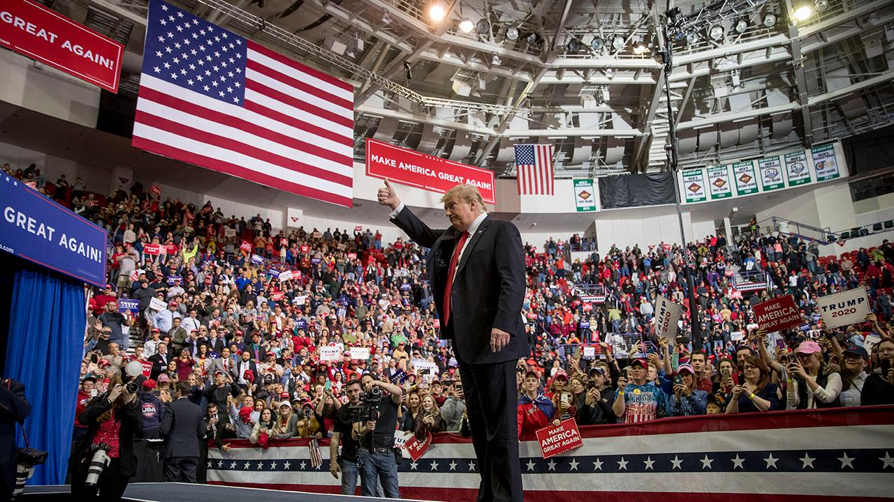 Can any candidate beat President Trump in 2020 if the US economy remains this strong?