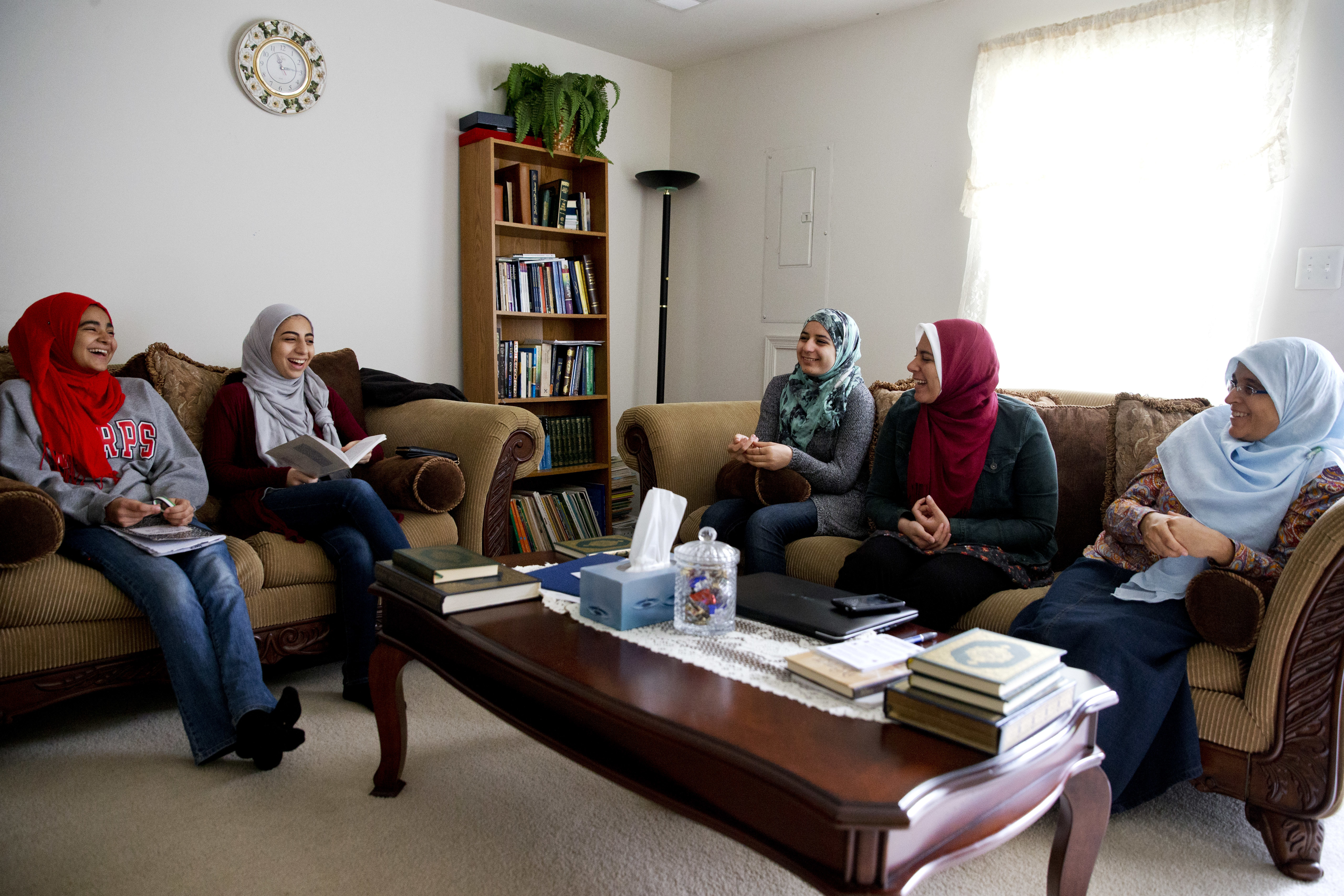 There is a large and diverse Muslim community in the U.S. today.