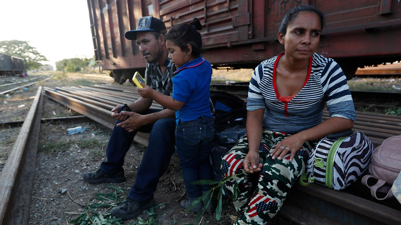 Migrants from around the world gather in Mexico with goal of entering US