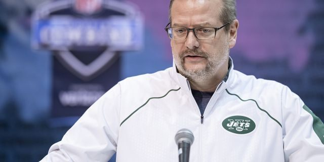 Mike Maccagnan was the general manager of the New York Jets for four seasons before Wednesday's firing. (Photo by Michael Hickey/Getty Images)