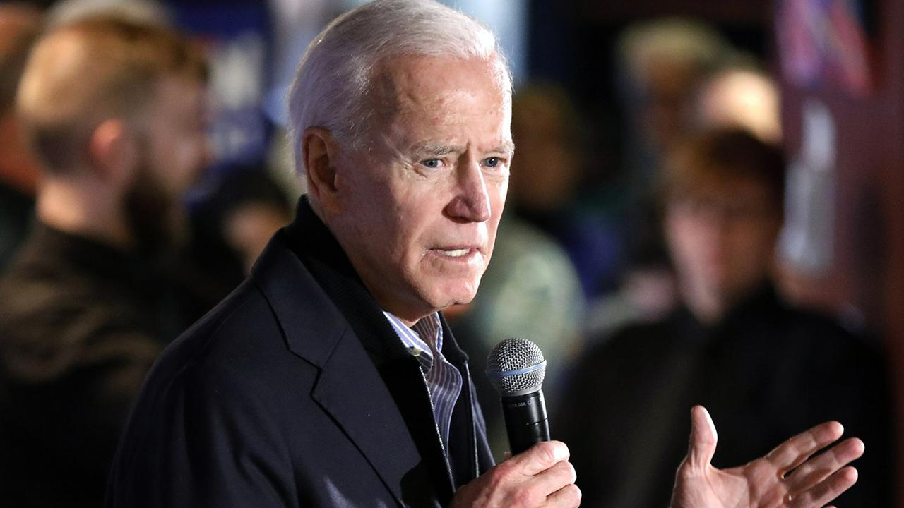 2020 presidential candidate Joe Biden appears to question 2016 election results