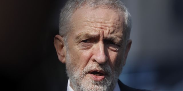 """Labour Party leader Jeremy Corbyn said that """"we have been unable to bridge important policy gaps between us."""" (AP Photo/Frank Augstein, file)"""