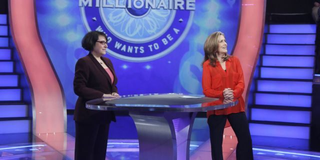 WHO WANTS TO BE A MILLIONAIRE WITH KATHY HERMAN, MEREDITH VIEIRA