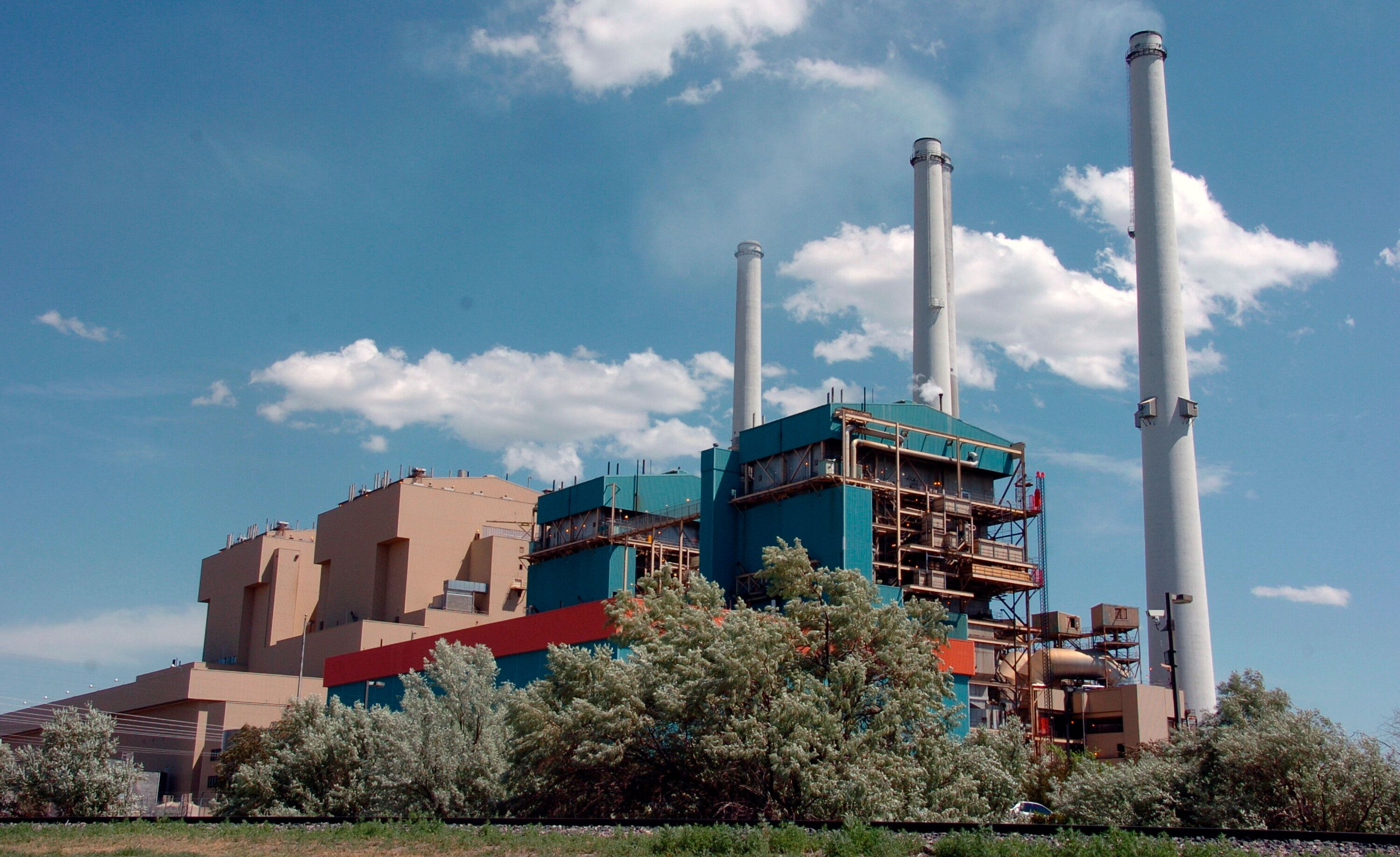 This 2010 file photo shows the Colstrip Steam Electric Station, a coal-fired power plant in Colstrip, Montana.