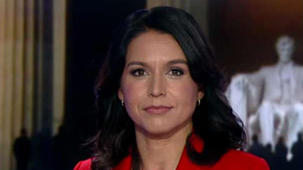 Rep. Gabbard: War with Iran would make Iraq war look like a cakewalk