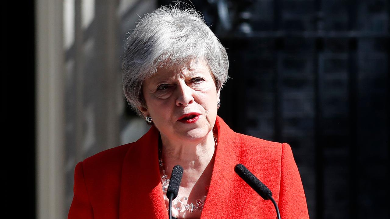 Theresa May announces her resignation as prime minister