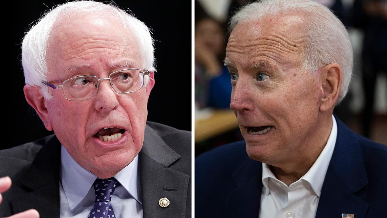 Biden, Sanders tied among likely Iowa caucus-goers in new poll