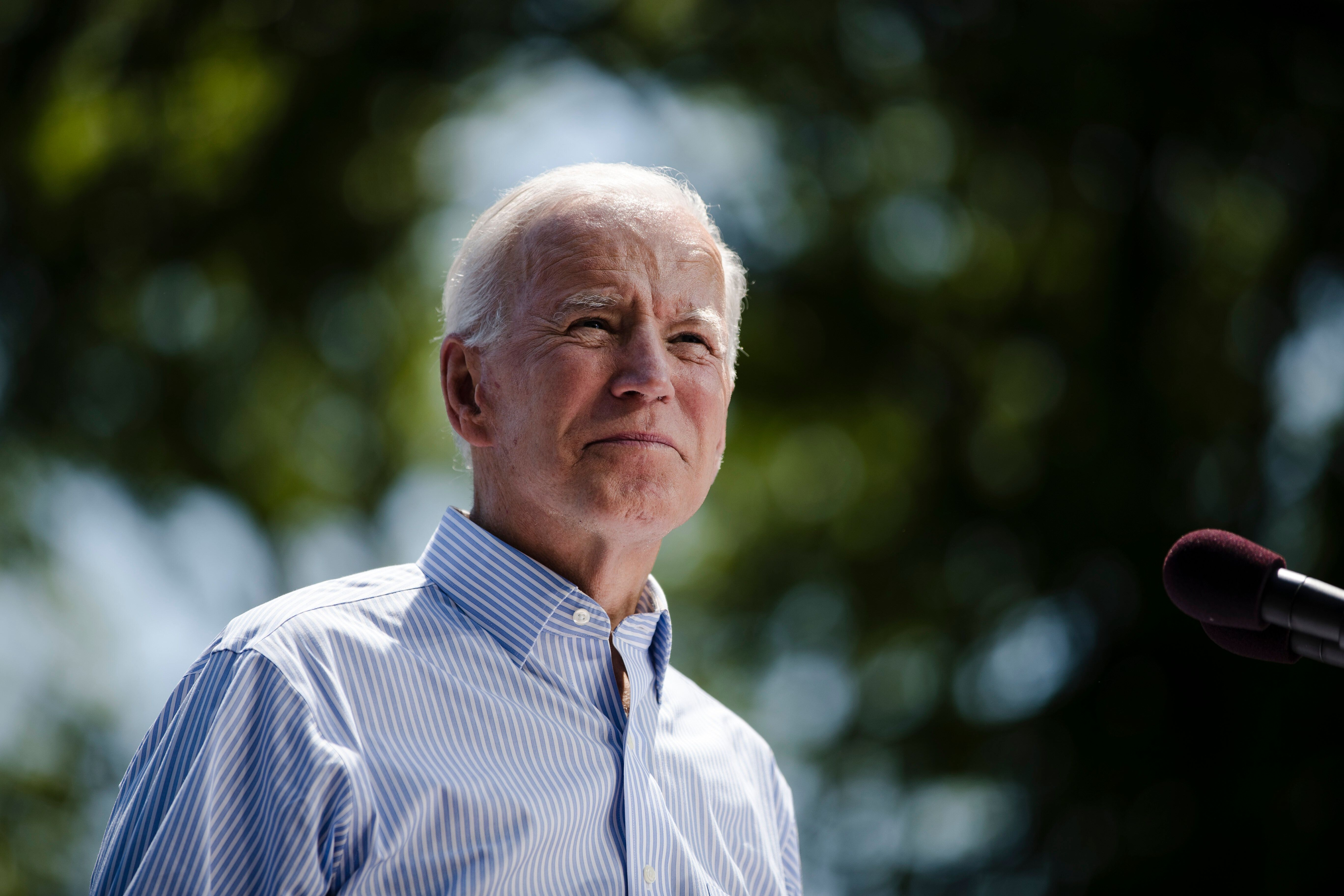 """JoeBiden has declared himself""""the most qualified person"""" to be president."""