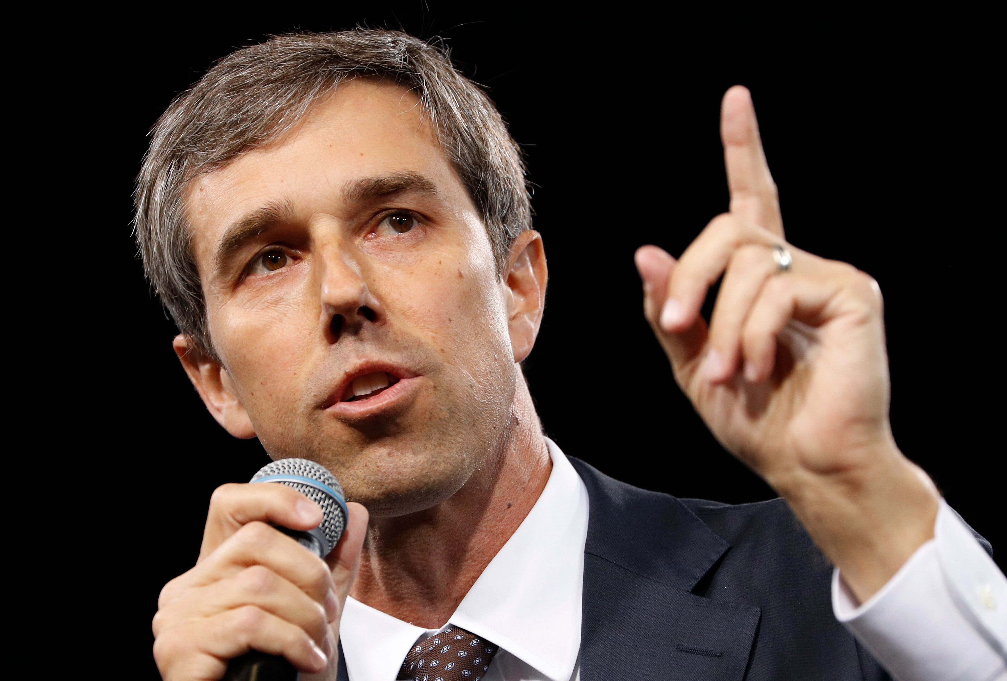 Beto O'Rourke shot to the national stagewith an underdog U.S. Senate race last year that ended in his defeat against Te