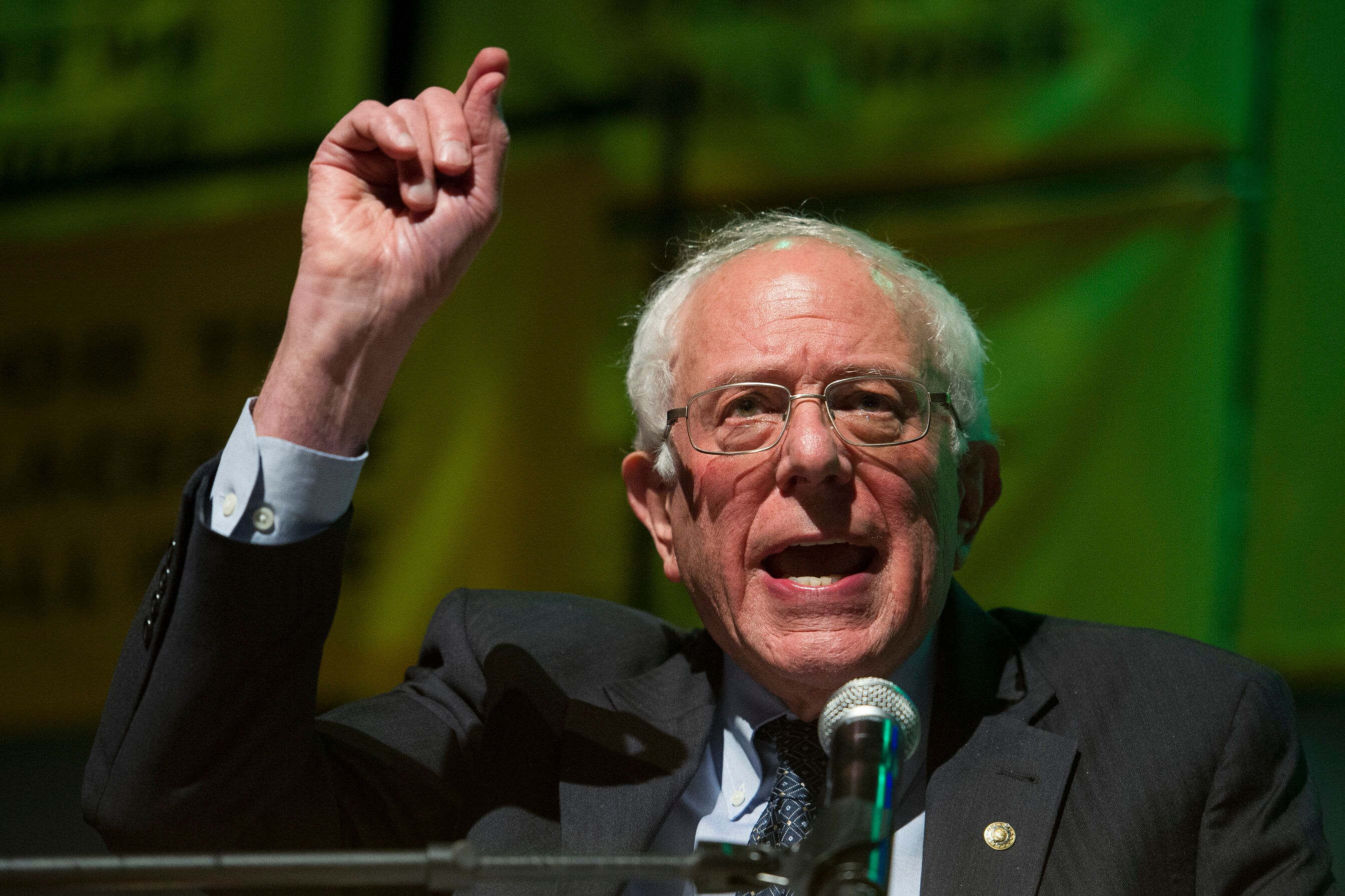 """Bernie Sanders has promised his second presidential bid would be a """"continuation of what we did in 2016."""""""