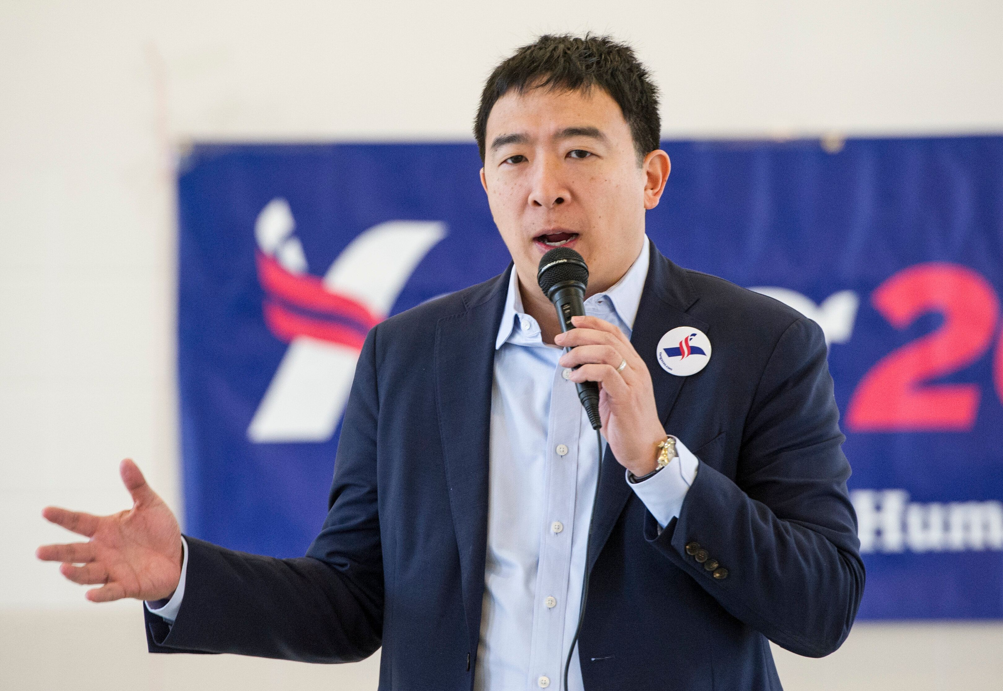 Andrew Yanghas proposed a $1,000-a-month stipendfor all U.S. citizens.