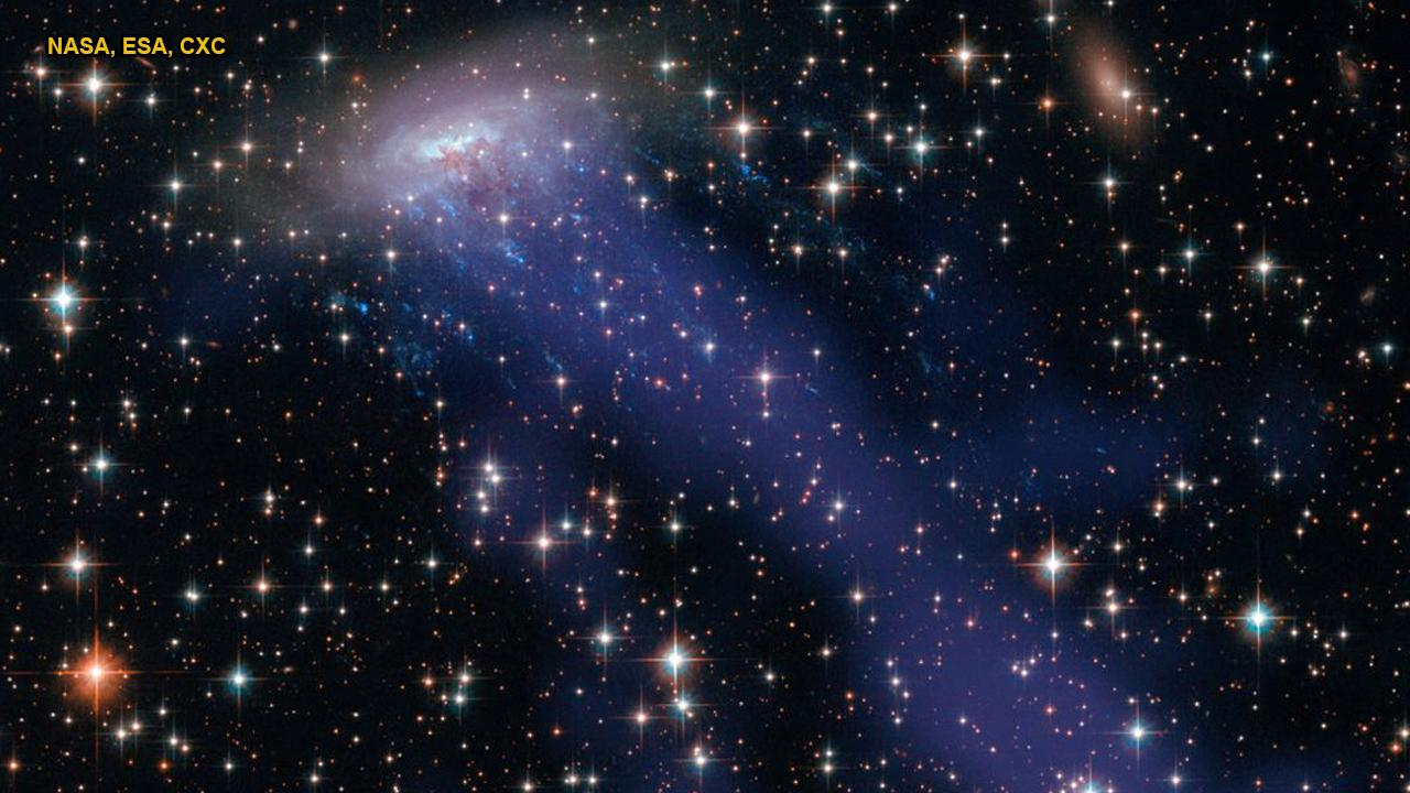 NASA spots mysterious galactic 'jellyfish' in space