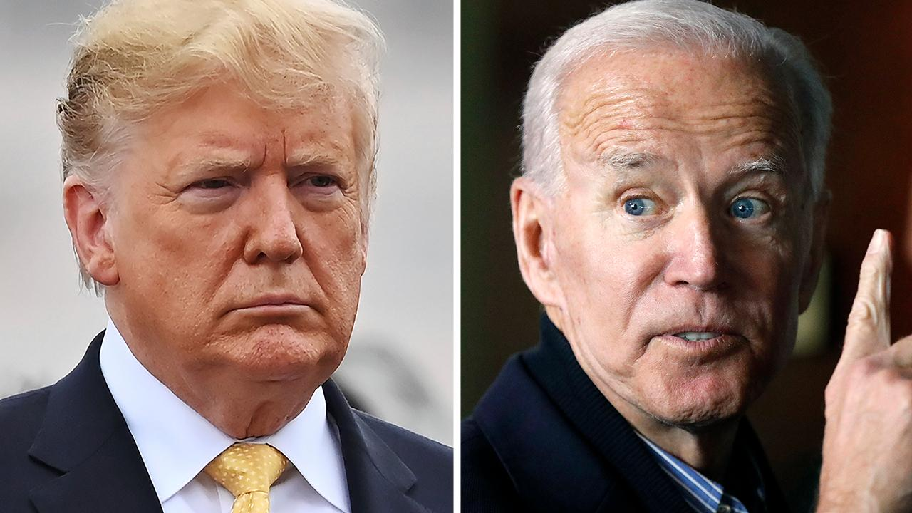 Joe Biden: President Trump inherited the booming economy