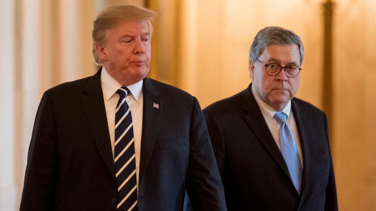 Trump gives Attorney General Barr the power to declassify intelligence information