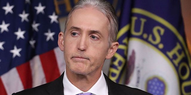 """Former Republican Congressman Trey Gowdy lampooned Democratic presidential candidate Eric Swalwell for admitting that him being """"a white guy"""" was a flaw in this election.<br data-cke-eol=""""1"""">"""