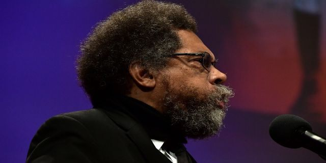 """Cornel West said Tuesday """"if Trump comes out strong on criminal justice reform, he is going to get a slice of the black vote."""""""