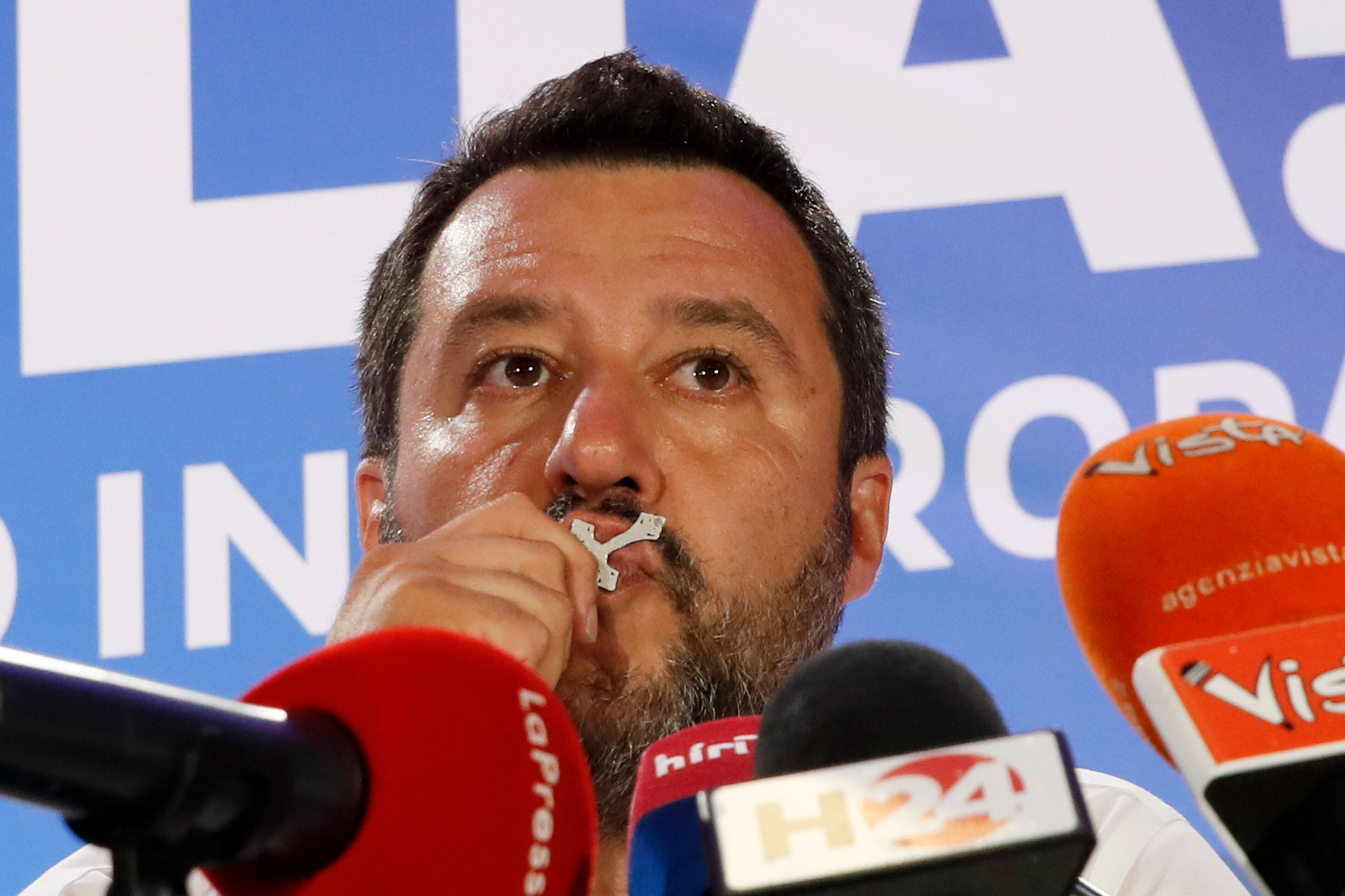 Salvini has focused his party almost solely on opposing immigration, demanding concessions from the EU and attacking Islam.