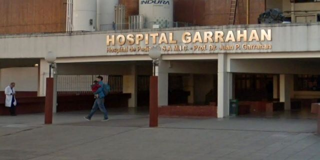 The Security Ministry said in a statement that police detained the doctor Tuesday at the Juan P. Garrahan children's hospital in Buenos Aires.