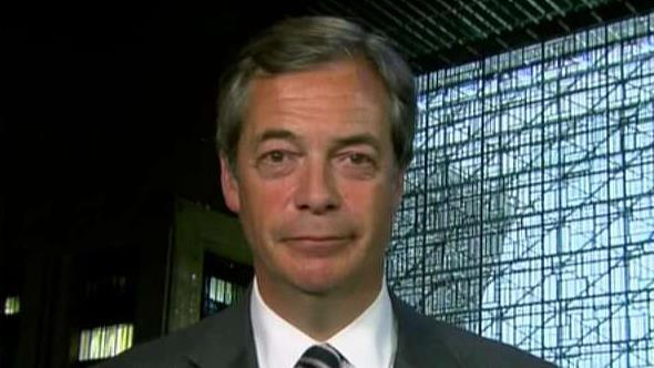 Nigel Farage on Brexit party's big win