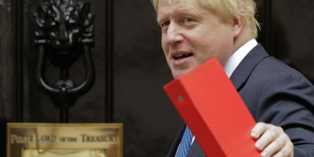 Former Foreign Secretary Boris Johnson has warmed to Trump in recent years. (AP Photo/Alastair Grant, File)