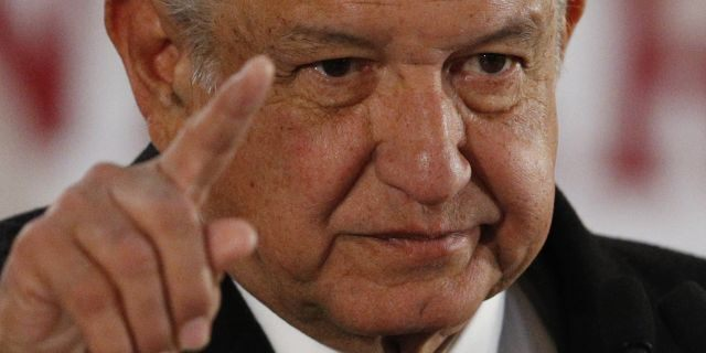 Mexican President Andres Manuel Lopez Obrador (AP Photo/Rebecca Blackwell)