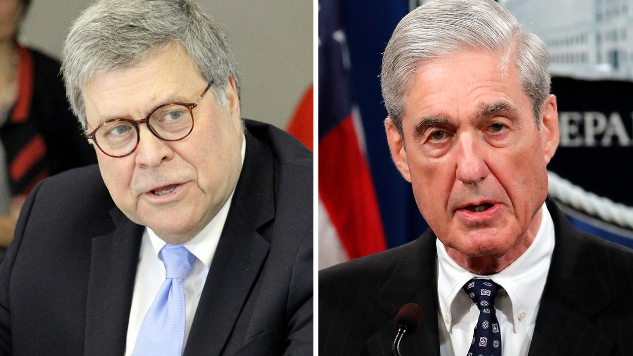 Attorney General William Barr says Robert Mueller 'could've reached a decision'