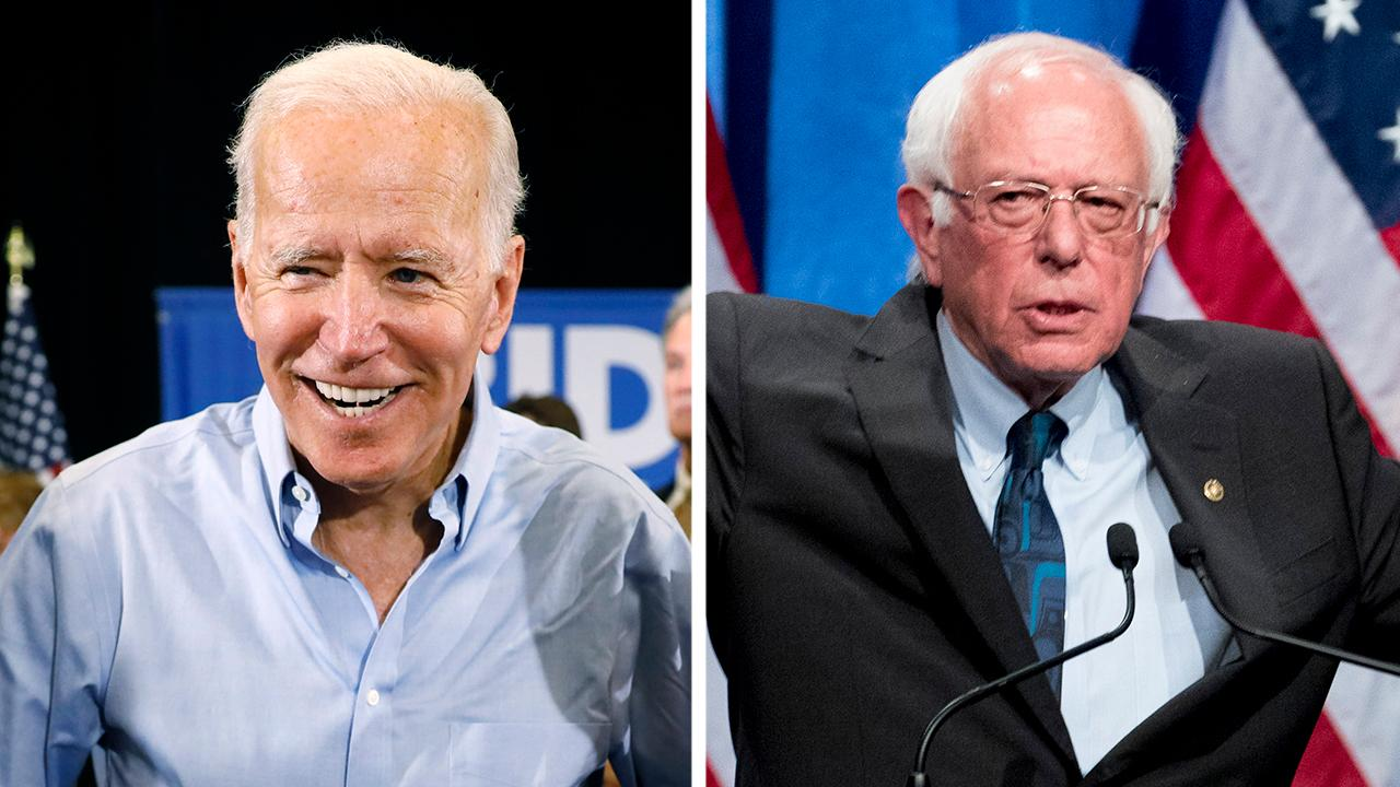 Sanders touts socialism, Biden reflects on Obama era