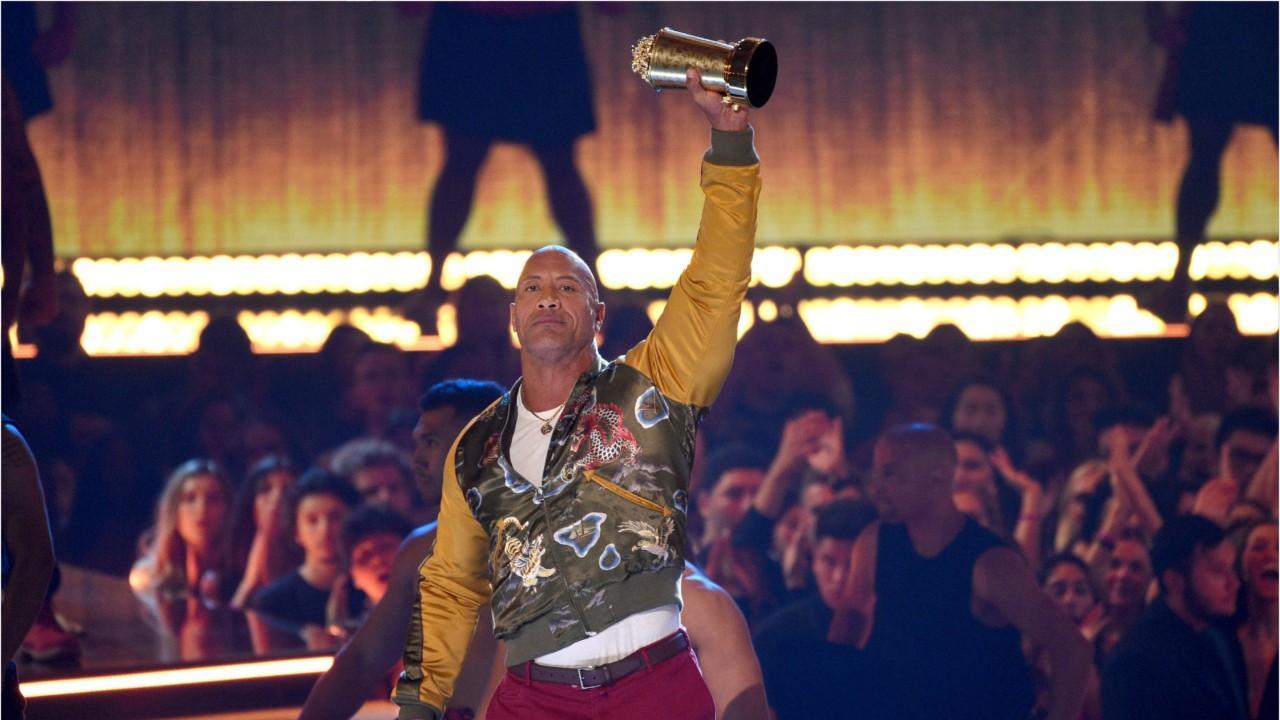 Dwayne 'The Rock' Johnson gives moving speech at MTV Awards