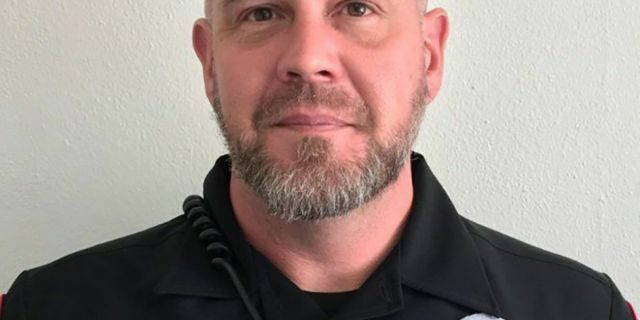 North County Police Cooperative officer Michael Langsdorf is shown in an undated photo provided by the North County Police Cooperative. Officer Langsdorf was shot and killed Sunday, June 23, 2019 in Wellston, Mo., near St. Louis while responding to a bad check complaint at a food market.