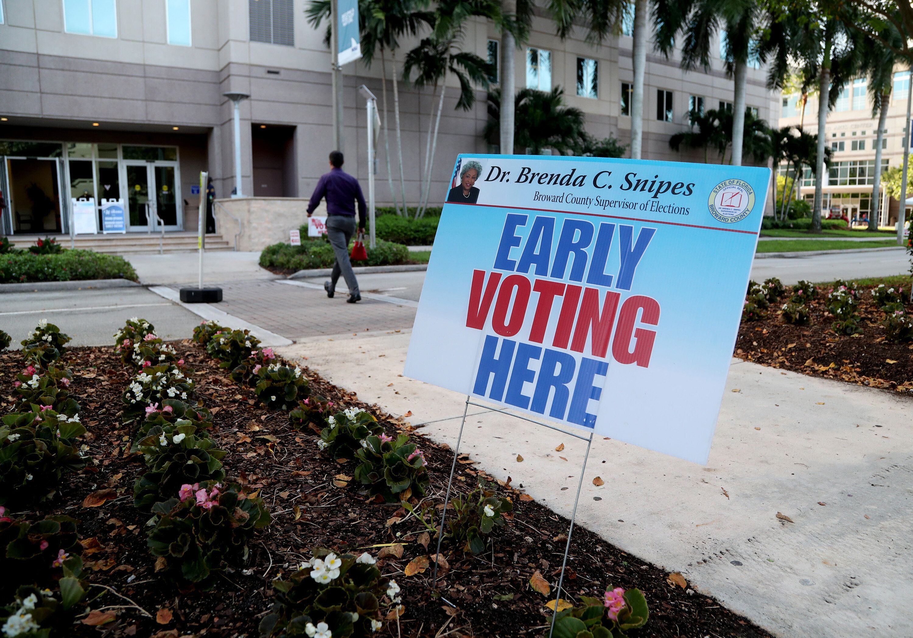 A federal judge ordered Florida to allow early voting at public university facilities last year. Now, the plaintiffs in that